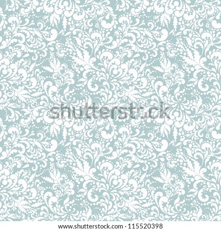 Elegant seamless pattern. Vector - stock vector
