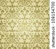 Elegant seamless vintage vector pattern - stock vector