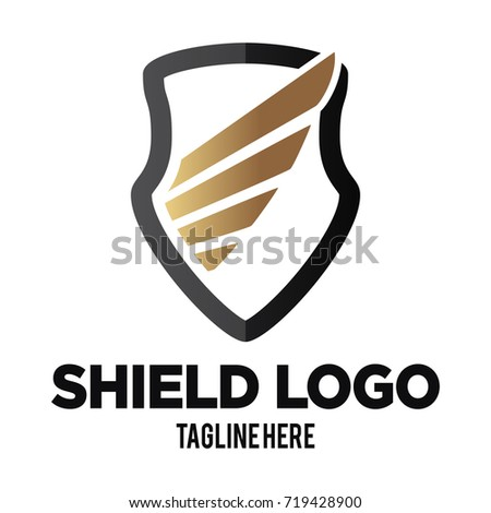 Lion Shield Vector Logo Design Template Stock Vector ...