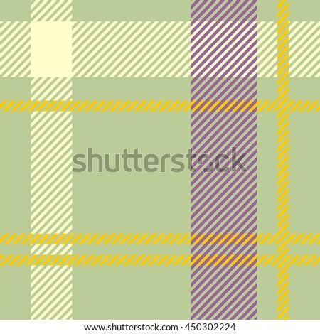 Elegant tartan seamless - stock vector