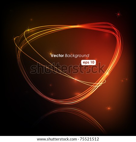 elegant vector design - stock vector