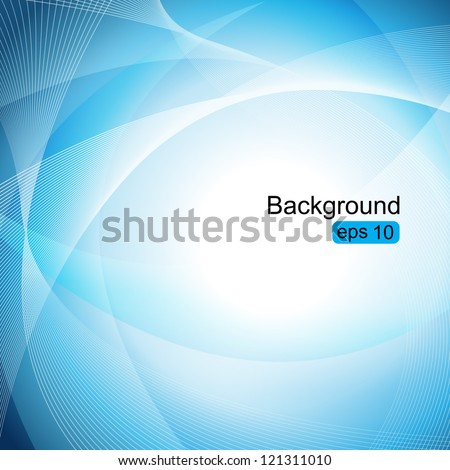 Elegant Wavy Background - Vector Illustration, Graphic Design Editable For Your Design. Beautiful Background For Business Brochure - stock vector