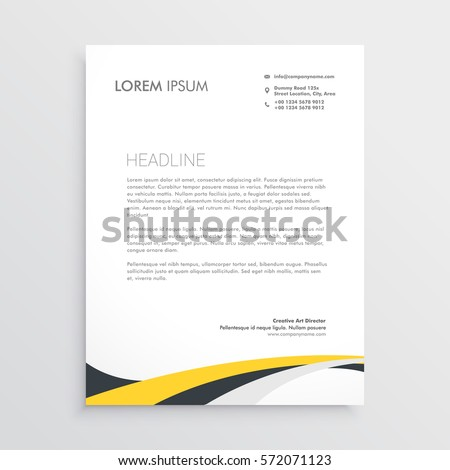Letterhead Design Stock Images Royalty Free Images