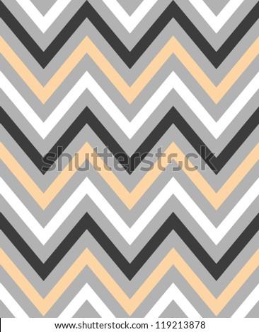 Elegant zigzag seamless pattern. Chevron pattern. Vector illustration - stock vector