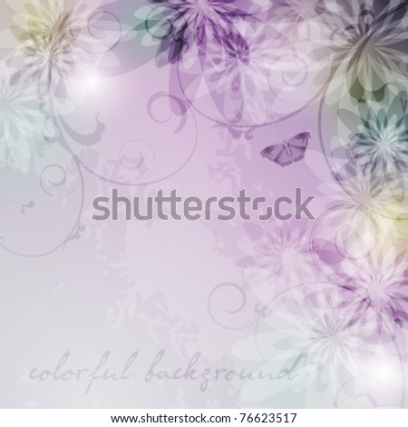 Elegantly background with pastel colors, eps10 format - stock vector