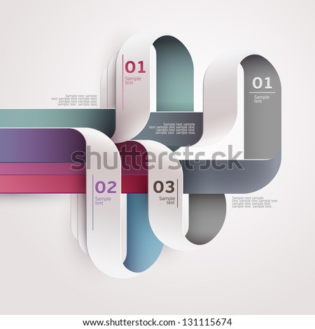 Elements of infographics. - stock vector