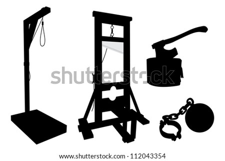 elements to perform executions - stock vector