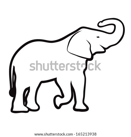 Cartoon Elephant Head Stock Photos, Images, & Pictures ...
