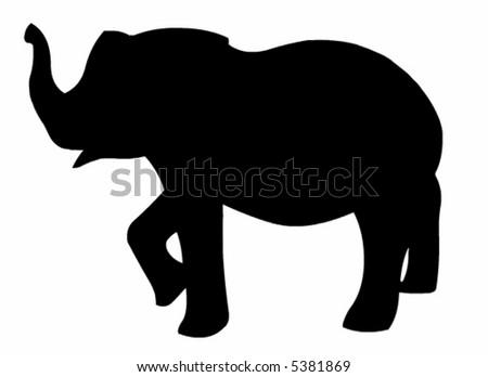 Elephant vector - stock vector