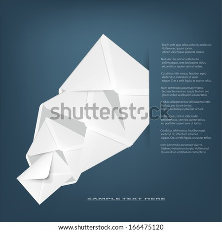 Email concept. - stock vector