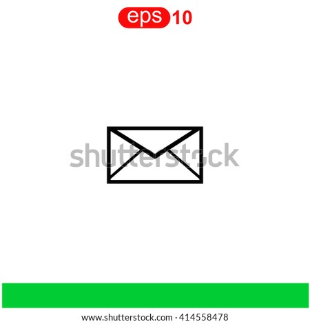 Email icon. Email icon vector. Email icon illustration. Email icon web. Email icon Eps10. Email icon image. Email icon logo. Email icon sign. Email icon art. Email icon flat. Email icon design. - stock vector