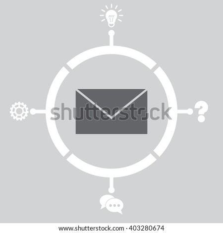 Email Icon. Email Icon Vector. Email Icon Object. Email Icon Picture. Email Icon Image. Email Icon Graphic. Email Icon JPEG. Email Icon EPS. Email Icon Design. Email Icon Drawing. Email Icon AI. - stock vector