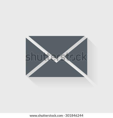 Email icon - Vector - stock vector