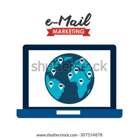 email marketing design, vector illustration eps10 graphic
