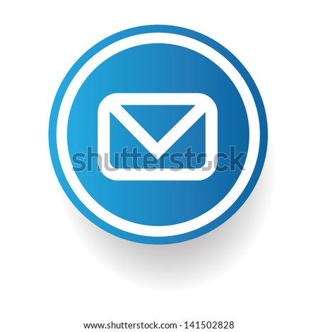 Email sign,vector - stock vector