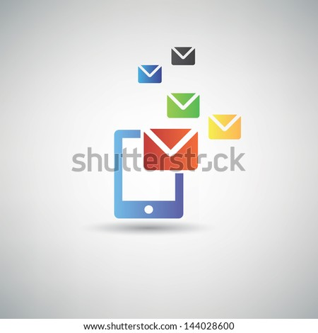 Email symbol,vector - stock vector