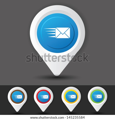 Email symbol,vector