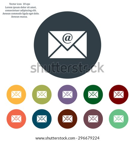 email - vector icon