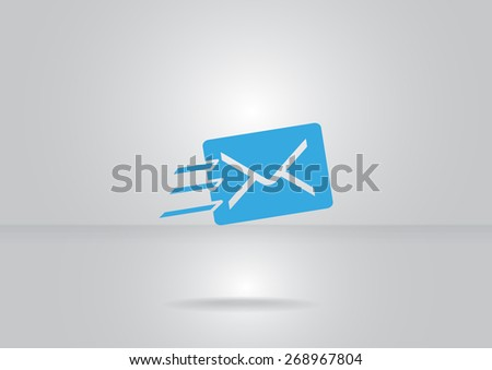 email web icon. vector design