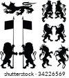 emblem 2 - stock vector