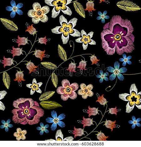 Embroidery Designs Stock Images Royalty Free Images