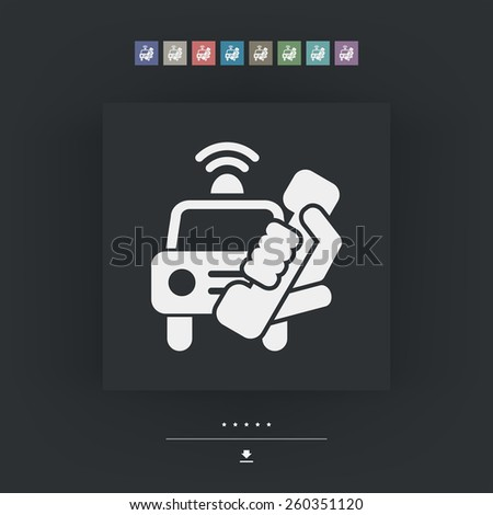 Emergency call - stock vector