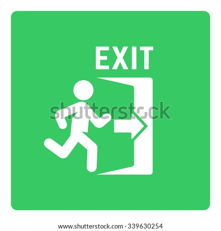 how to open an exit sign