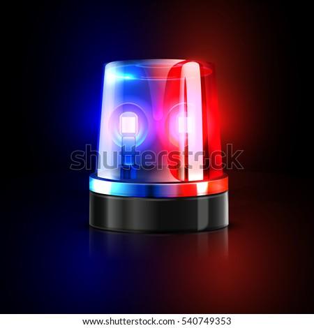 Police Sirens Gif Emergency Flashing Pol...