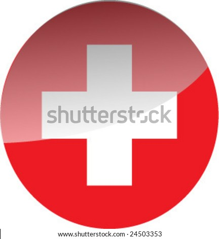 emergency medical signal - stock vector