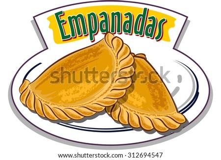 Empanada im genes pagas y sin cargo y vectores en stock for Artistic argentinean cuisine