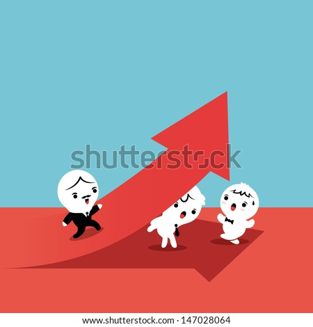 Employee as a foundation for Successful Business - stock vector