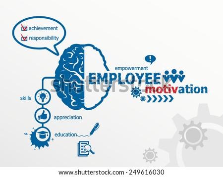 Employee motivation concept. - stock vector