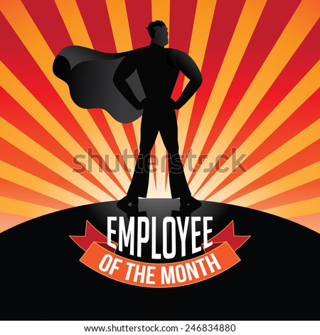 Employee Of The Month Poster Template 28 Images Free Custom