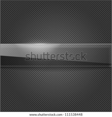 Empty design for your object - stock vector