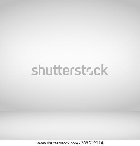 Empty light studio background, vector eps10 illustration - stock vector
