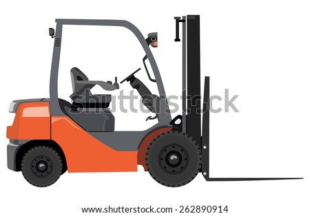 Empty loader on a white background - stock vector