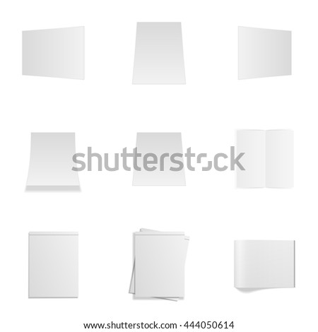 Empty Office Mockups Set