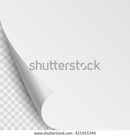 Paper Corner Curl Stock Images Royalty Free Images