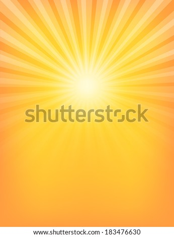Empty Sun Sunburst Pattern. Vector illustration