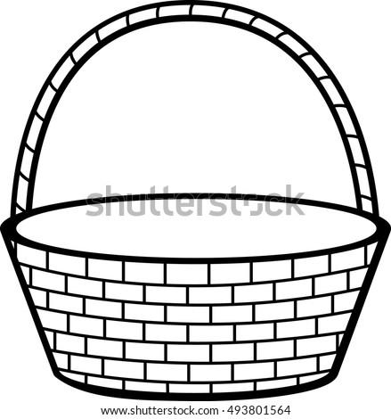 Stock Photo Waste Paper Basket Cartoon