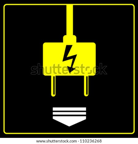 Energy and electricity background - stock vector