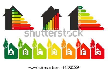 energy efficiency - stock vector