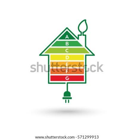 Energy Efficient House Concept Classification Graph Stock ...