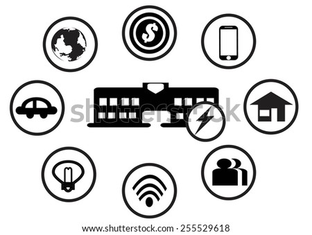 Energy, electricity - stock vector