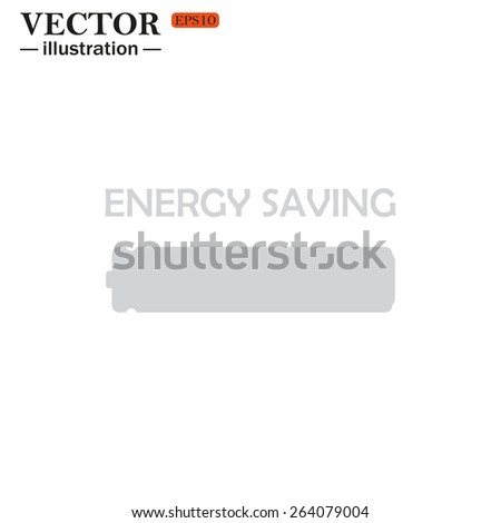energy saving battery , vector illustration, EPS 10 - stock vector