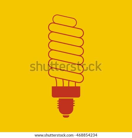 Energy saving light Icon