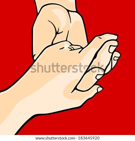 Engagement - stock vector