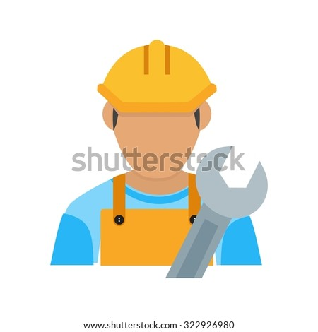 Engineer, engineering, construction icon vector image. Can also be used for activities. Suitable for use on web apps, mobile apps and print media.