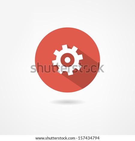 engineer icon - stock vector
