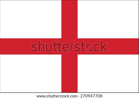 England flag - stock vector